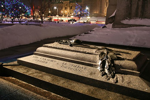 Canadian National War Memorial - Tomb of the Unknown Soldier