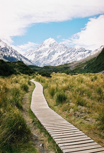 Towards Aoraki Mt Cook