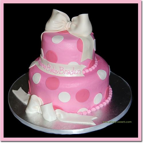 Baby Braden Shower Cake