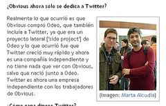 Entrevista a Biz Stone (foto) - Consumer.es