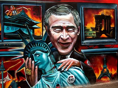 George W. Bush 2 by Marta S. Gufstasson.