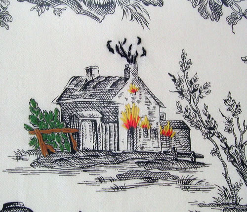 richard-saja-burning-house-toile