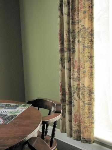 dining curtain