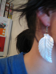 new earrings!