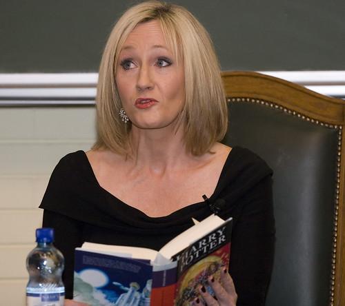 JK Rowling on flickr