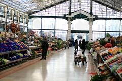 Lisbon market aisle