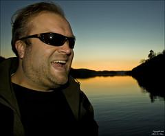 Roar in Sunset (Staale N) Tags: portrait sun nature water roar canoneos40d bildekritikk mindalen