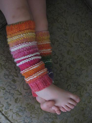 legwarmers rainbow 2