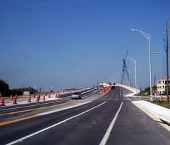 Now open both ways (thisisrobert) Tags: new bridge beach jacksonville waterway intracoastal nowopen eastandwest bbmccormickbridge maureenmccormickbridge oldonesnowclosed tookshotfromoutsideofvan