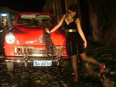 nice car (manuelie manuelie) Tags: auto uruguay rosario colonia invierno barbarella antiguo suspiros perlas terciopelo roseshine