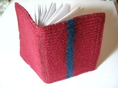 Knit cover book