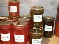 Apple Pepper and Cinnamon Jelly 2008