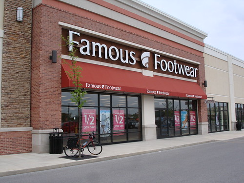 Famous Footwear Has No Bike Rack