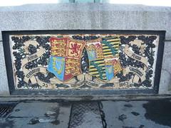 Coat of Arms (crystalseas) Tags: bridge london lumix iron coatofarms lion panasonic harp princealbert queenvictoria threelions crystalseas