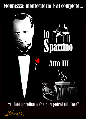 Berlusconi+Spazzino