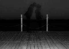 central  kiss monochrome (PDKImages) Tags: shadows ghosts love kiss beauty not there story looking memories waiting searching disappeared disappearing firstkiss lastkiss silhouettes hooded wishing monochrome sea coast waves blues blue lost palomarenaissance sky turkey