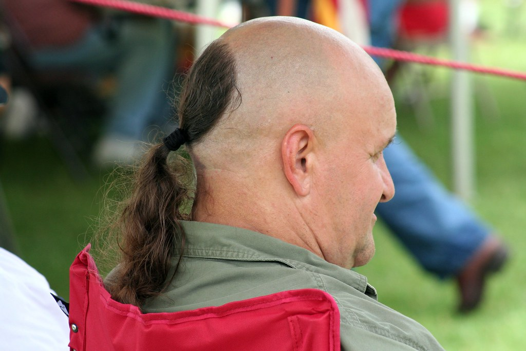 Would This Qualify As A Mullet? by Tobyotter, on Flickr