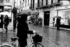 Vicenza (aliona's photos) Tags: street travel people bw italy rain canon vicenza 24105 urbanarea canonef24105mmf4lisusm