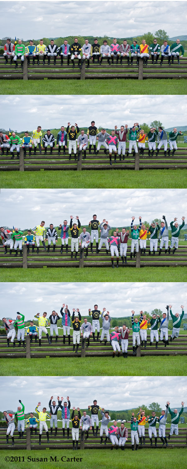 Virginia Gold Cup jockeys