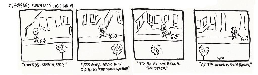 Overheard Conversations: Bikini
