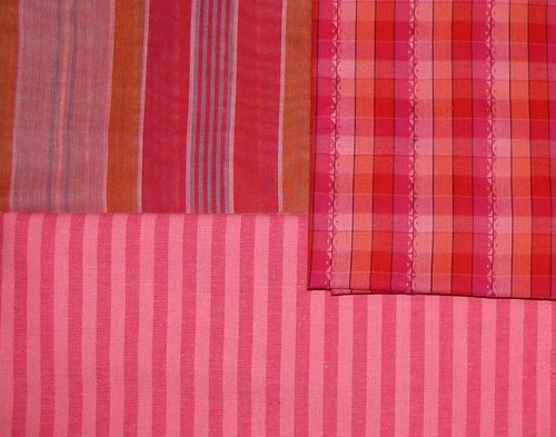 red shirting fabrics