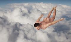 Icarus #6 (Chicago_Tim) Tags: shirtless india man sexy guy photoshop nude jeremy fantasy cloth mythology loin