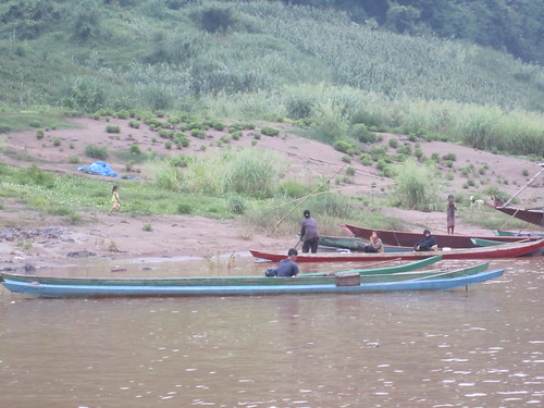 On the Mekong in Laos