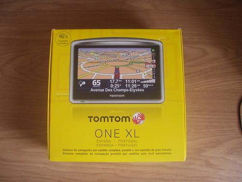 Caja Tomtom One XL