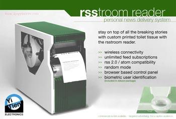 RSStroom reader