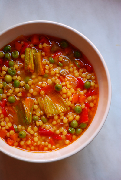 Vegetable Soup with Pastina© by haalo