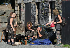 Their Parents all have good excuses. (professional recreationalist) Tags: street kids youth work parents punk homeless brucedean professionalrecreationalist victoriabc parenting wherearetheirparents punkabbestia worktoomuch ittakesawholecommunitytoraiseachild