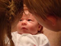 Ada, 3; Sadie, 3 weeks; Jonas, 6