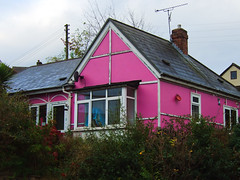 pink house (johnthescone) Tags: pink house sheffield stocksbridge