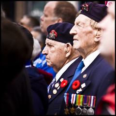 Veterans (KennethMoyle) Tags: hamilton remembranceday remembrance veteran veterans lightroom imagemagick hamiltonontario november11 sigma70300