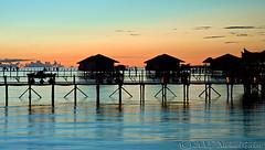 wvshiil4242pcw (gerb) Tags: ocean blue sunset orange water beautiful silhouette topv111 1025fav 510fav wow nice topv333 lovely1 fv5 malaysia d100 mabul tvp 24120mmf3556gvr sipadanphotoweek pfo 3waychallenge 3w5 sipadanwatervillage wowiekazowie photofaceoffwinner pfogold herowinner