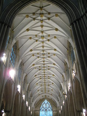 Saturday - York Minster Cathedral (chicgeekuk) Tags: york uk laura tourism church architecture worship cathedral unitedkingdom stonework stainedglass tourist ceiling east nave yorkminster patty minster kishimoto laurakishimoto laurakishimotoca insideyorkminster