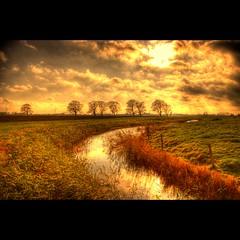 Rondo - Tempo di Minuetto (Dimitri Depaepe) Tags: trees sun reflection water clouds landscape bravo oostende hdr magicdonkey aplusphoto xxxxxxxxxxxxxxxxxxxxxxxxxxx superbmasterpiece infinestyle thegardenofzen gooooooooooodmorning