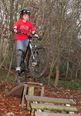 Dunsmore Bike Jumps - Nov 2007 (Peter J Dean) Tags: nick dmr dunsmore woodengap