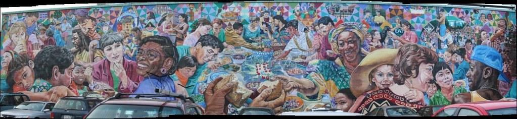 potluck mural