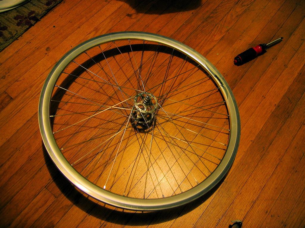 Wheel building tutorial: Final steps