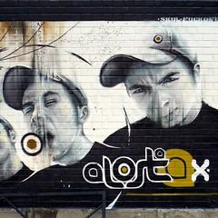 Alost (Amaury Henderick) Tags: portrait streetart wall graffiti belgium belgique belgi portret mur ghent gent gand muur alost oudebeestenmarkt