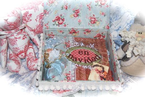 En Navidad caja abierta