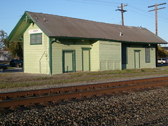 Agnew Station - Santa Clara, Ca. (sharkzan) Tags: old station buildings structures historic santaclara railroads railfanning depots