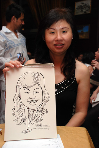 Caricature bithday party 311207 5