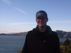 me at the Golden Gate by Jessica