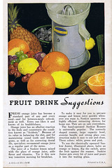 Sunkist Junior juicer (Dying In Downey) Tags: michael thirties 1930s junior recipes 30s juicer poulin sunkist