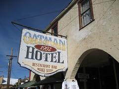 Oatman Hotel, Since 1902. (12/23/07)