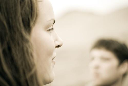 E profile, F blur