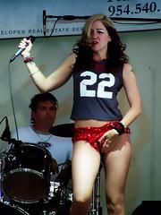 twenty two (McBeth) Tags: 2005 musician 22 fishnets twentytwo womensmusicfestival hollywoodfl calliopefest redsequins glitteryeyes
