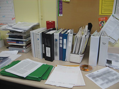 A Messy Office by Beth77 on Flickr
